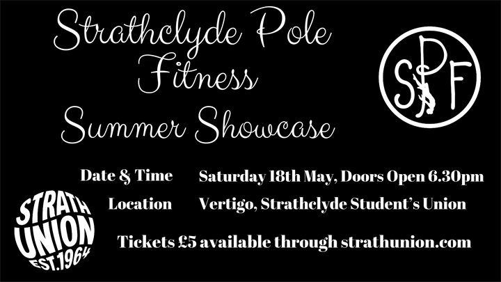 Strathclyde Pole Fitness: Summer Showcase