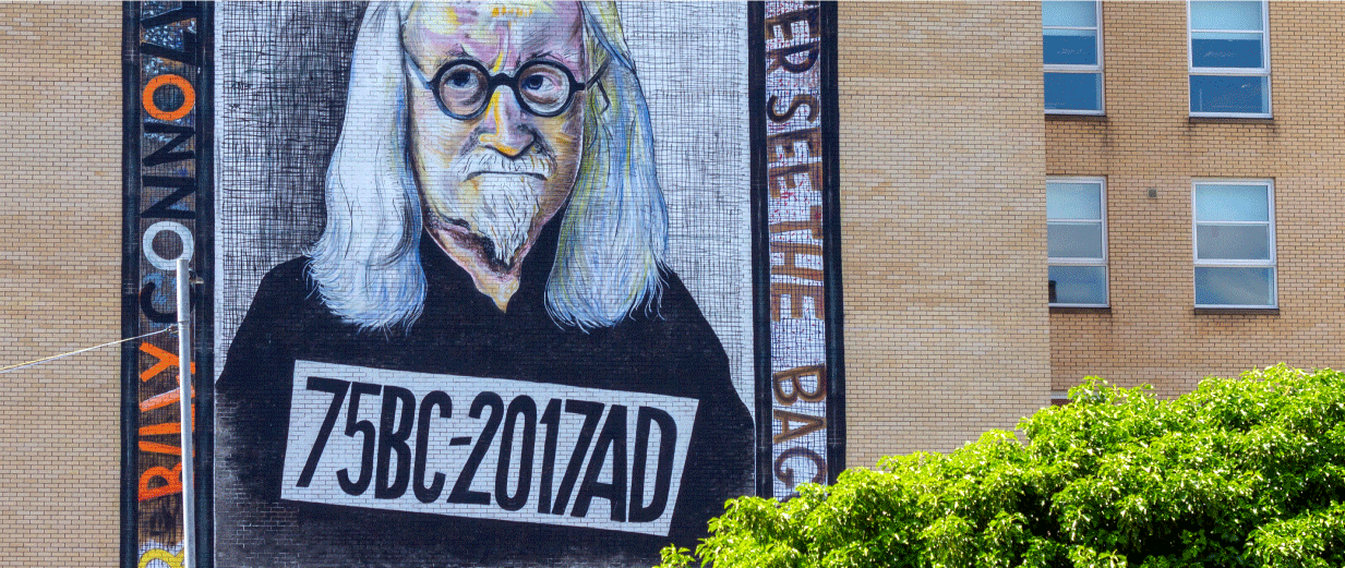 Billy Connolly Mural