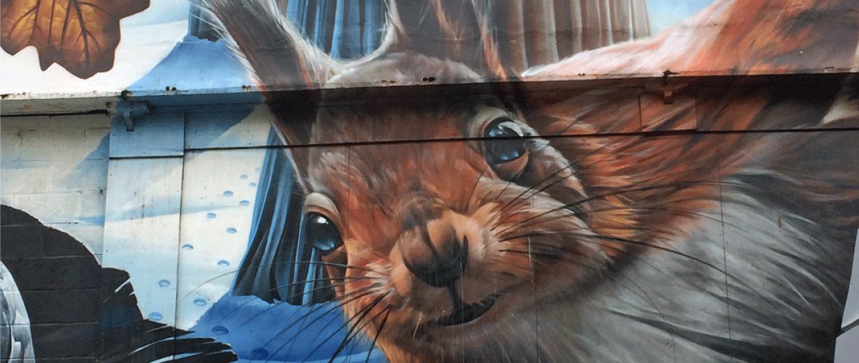 Fellow Glasgow Residents Mural
