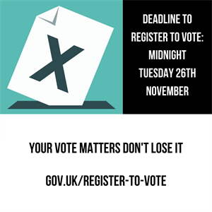 voter registration closing soon