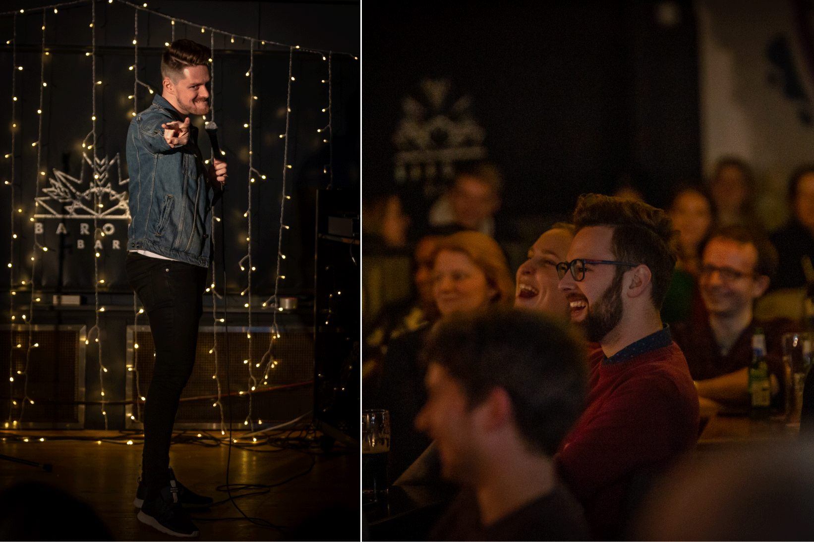Strath Comedy Night Launch 01