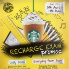 Recharge Cafe Exam Promos
