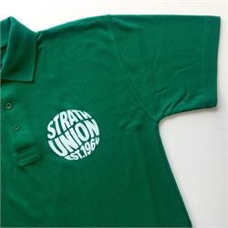 Strath Union Polo Shirt Green Photo