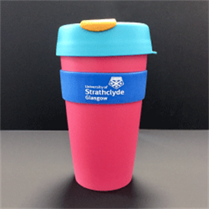 Image for Strathclyde Keep Cup (Large) - Pink and Blue