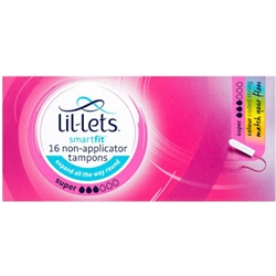 Free Sanitary Products: Lil-Lets Super Tampons