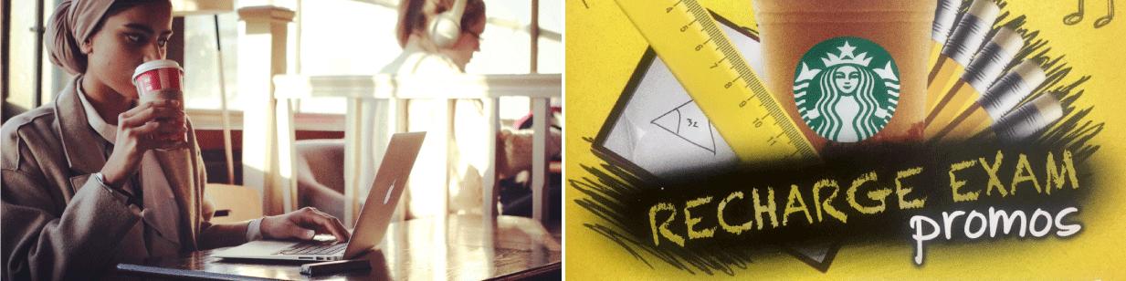 Recharge Cafe Exam Deals