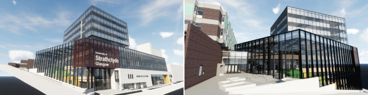 VR Model of New Building Exterior
